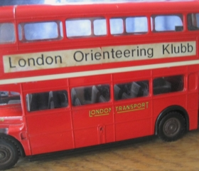 London Bus Trophy, Janet Biggs